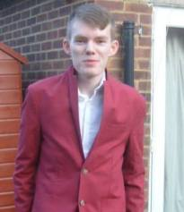 Prom, red swag