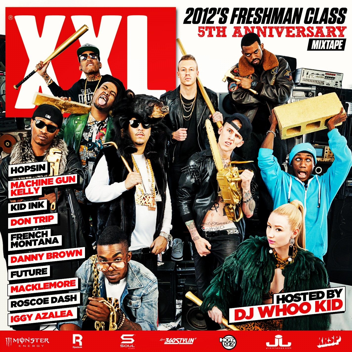 J Cole And His Brother 2012 XXL Freshman List...
