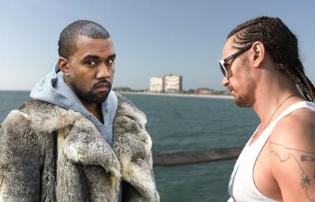 Kanye West and Alien
