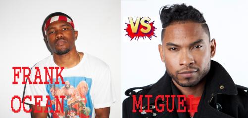 Frank Ocean vs. Miguel